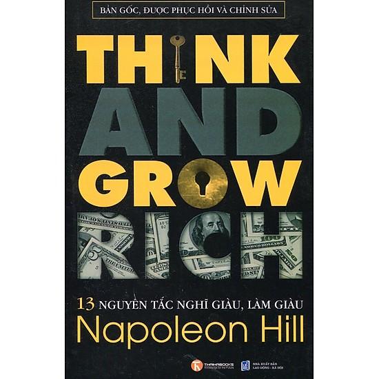13 nguyên tác nghĩ giàu, làm giàu