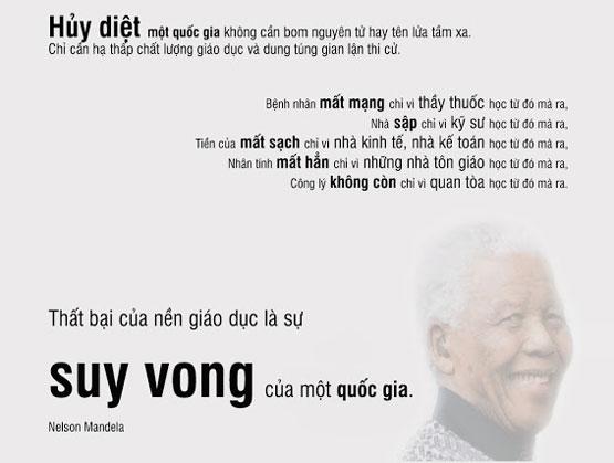 Nelson Mandela được cho là biểu tượng vĩ đại của Nam Phi, ông là tổng thống da đen đầu tiên của Nam Phi sau hơn 3 thập kỷ cầm quyền của người da trắng. Nelson Mandela còn là người hùng trong cuộc đấu tranh chống phân biệt chủng tộc. Ngày hôm nay, Sách Hay 24H tổng hợp các câu nói hay và nổi tiếng nhất của Nelson Mandela.
