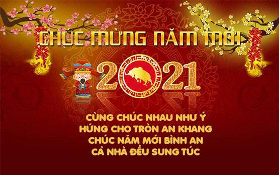 Những câu chúc mừng năm mới 2021 hay và ý nghĩa nhất
