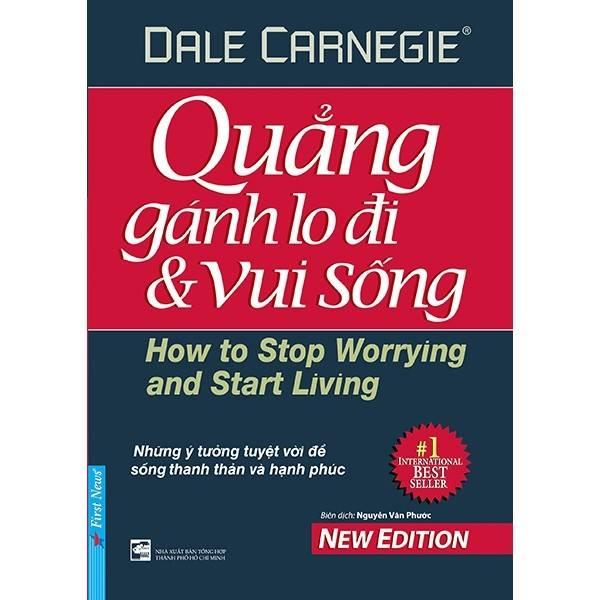 Cuốn sách Quảng Gánh Lo Đi Và Vui Sống của Dale Carnigie