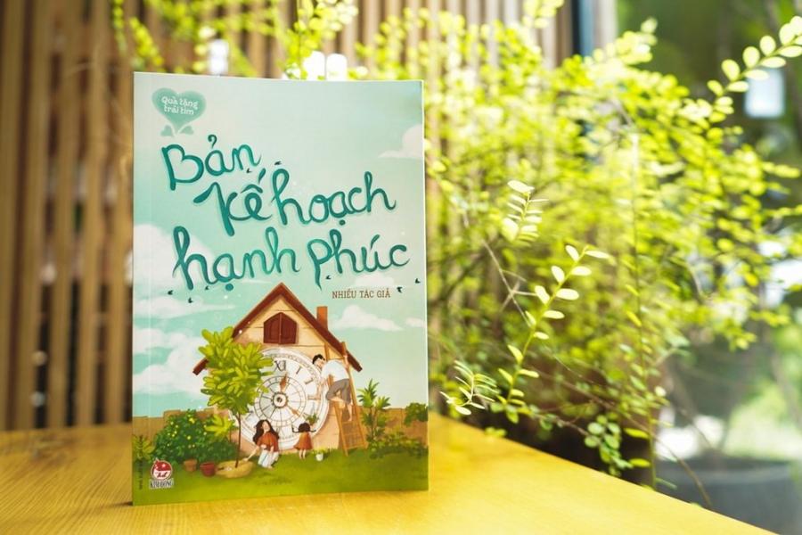 Bìa cuốn sách Bản kế hoạch hạnh phúc – Bộ sách quà tặng trái tim NXB Kim Đồng