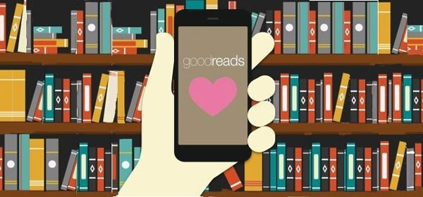 Trang web review sách Goodreads