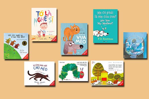 Tuyển tập sách song ngữ tương tác cho trẻ