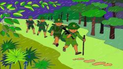 Những mẩu truyện cười hay nhất về người lính