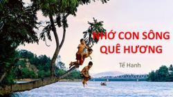 Phân tích bài thơ Nhớ con sông quê hương - Tế Hanh
