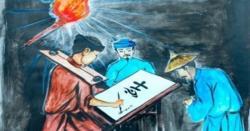Phân tích hình tượng nhân vật Huấn Cao trong chữ người tử tù