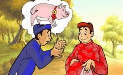 Truyện cười dân gian Lợn cưới áo mới - Ý nghĩa, bài học rút ra