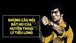 Những câu nói truyền cảm hứng của huyền thoại Lý Tiểu Long