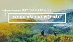 Bức tranh tứ bình trong Việt Bắc của Tố Hữu