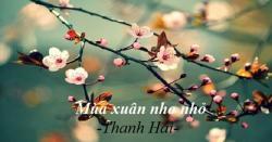 Phân tích bài thơ mùa xuân nho nhỏ từ con mắt của người đọc