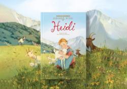 Review tiểu thuyết Heidi cô bé trên núi cao - Johanna Spyri