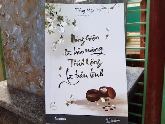 Review Sách Nóng Giận Là Bản Năng, Tĩnh Lặng Là Bản Lĩnh