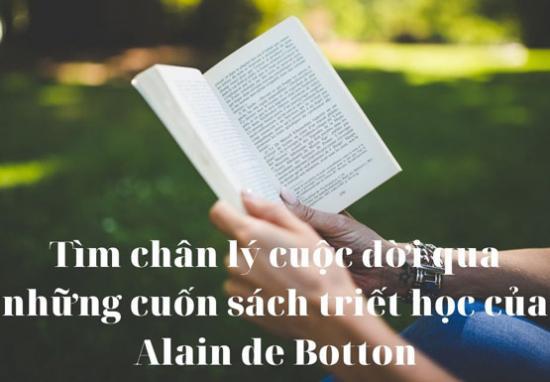 Những cuốn sách hay về triết học của Alain de Botton nên đọc